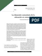 LA DIMENSION COMUNITARIA DE LA EDUCACION EN COMUNICACION.pdf