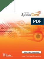 Fortis Speed Core Brochure