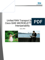 Unified RAN Transport Solution
