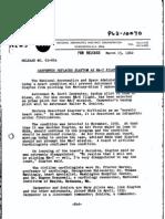 NASA Carpenter Replaces Slayton Press Release 1962