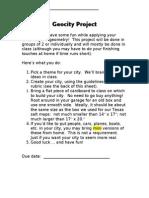 geocity project