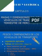 CAPITULO 05 Masas y Dimensiones de los Vehiculos de TT.ppt