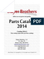 Slayer Brothers 2014 Parts Catalog