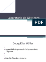 Laboratorio de Gottingen