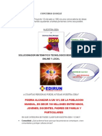 Concurso Google Para Web Udm