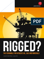 Global Witness RIGGED the Scramble for Africas Oil Gas and Minerals 1