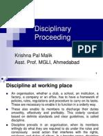 Disceplinary Proceeding