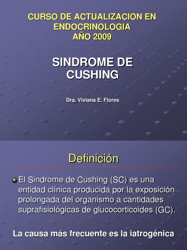 Perdida de peso cushing ectopico