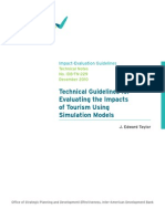 r Evaluating the Impacts of Tourism Using Simulation Models Technical Guidelines for Evaluating the Impacts of Tourism Using Simulation Mo sub.pdf
