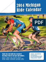 2014 Michigan Ride Calendar