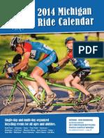 2014 Michigan Ride Calendar