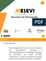 Presentación campaña en México IMESEVI Seguridad Vial