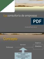 1 La consultoría de empresas.ppt