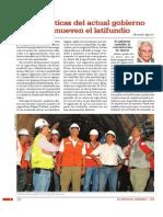Las politicas de actual gobierno promueven el latifundio.pdf
