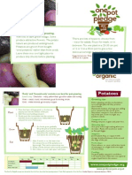 Potatoes - Organic Growing Guides for Teachers + Students + Schools