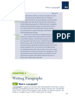 Writing Paragraphs