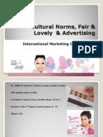 Fair Lovely Advertising Final