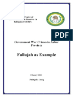 Government War Crimes in Anbar Province