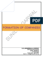 Formation of Company Procedure