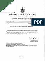 An Act Regarding Bad Faith Assertions of Patent Infringement