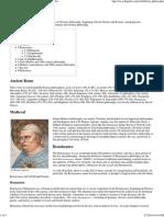 Italian Philosophy - Wikipedia, The Free Encyclopedia