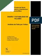 Informe  diseño y estabilidad de taludes - Falla de volteo-Rev. 2 PDF.pdf