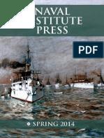 Naval Institute Press Spring 2014 Catalog