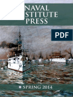 Naval Institute Press Spring 2014 Catalog