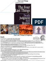 Four Last Things, Purgatory & Second Coming
