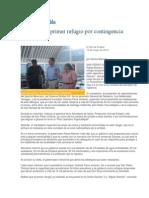 13-05-2013 El Sol de Puebla - Visita RMV primer refugio por contingencia volcánica.pdf