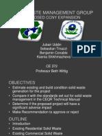 Ex. Solid Waste Team Presentation