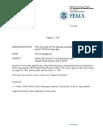 FEMA 8-31-05 NFIP Memo
