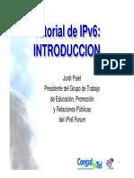 Datos IPV6