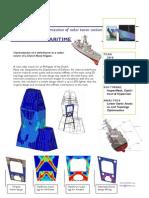 Optimization of Radar Tower Section - FEMTO NL