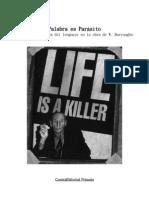Palabra es Parásito. La teoría negativa del lenguaje en la obra de William Burroughs. José Ricardo García Corcuera.