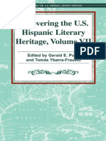 Recovering the US Hispanic Literary Heritage, Vol VII edited by Gerald E. Poyo and Tomas Ybarra-Frausto