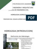 Hidrologia Intro