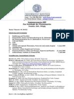 Rostocker Seminar Zur Finanzkrise