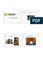 Bambu Na Arq e Constr Civil
