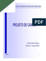 Arturo Martins Fadiga-Projeto de Canais
