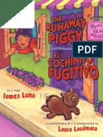 The Runaway Piggy / El Cochinito Fugitivo by James Luna
