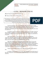 SC-Sen-A Wenzel Strategies for Lee Bright (Feb. 2014)