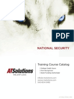 Reduced National Security Catalog