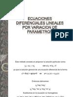 ecuacionesdiferencialeslinealesporvariaciondeparametros-091014112300-phpapp01