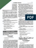 Decreto Supremo N° 068-2009-EM