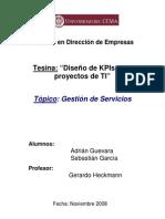 KPI Para Proyectos TI