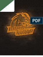Gameday program Boise State vs. UC Davis