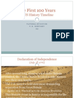 the first 100 years us history