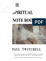 Paul Twitchell - Spiritual Notebook