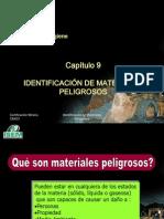 Cm001 Cap9.- Identificacion de Materiales Peligrosos